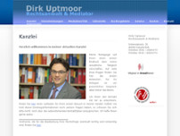 Dirk Uptmoor website screenshot