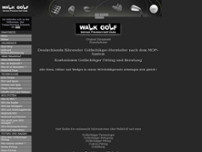 Walk Golf GmbH website screenshot
