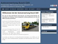 Autoverwertung Busch GbR website screenshot