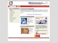 Weissmann GmbH website screenshot