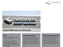 ruhrprojekt - Planen + Einrichten GmbH & Co. KG website screenshot