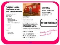 Fußbodenbau Horst Seifert website screenshot