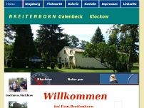 Matthias Breitenborn website screenshot