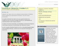 Ohlsdorfer Friedhof eV website screenshot