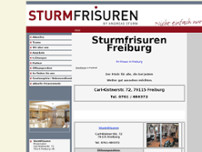 Andreas Sturm website screenshot