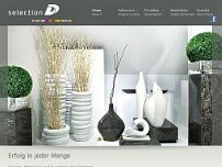 Selection D GmbH website screenshot