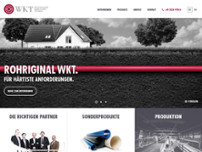 Westfälische Kunststoff Technik GmbH website screenshot