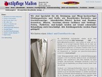 Textilpflege Mallon Inh. Mathilde Mallon website screenshot