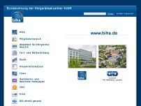 Bundesinnung der Hörgeräte-Akustiker website screenshot