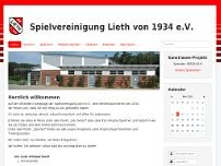 Spielvereinigung Lieth website screenshot