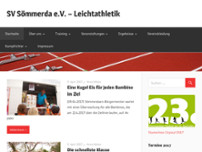 Sportverein Sömmerda e. V. website screenshot