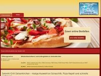 Saloniki-Grill website screenshot