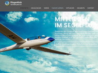 Fliegerclub Carl Zeiss Jena e.V. website screenshot