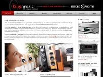 King Music Hifi,TV & Video-Vertriebs GmbH website screenshot