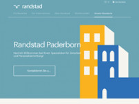 Randstad Paderborn website screenshot