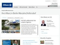 Allianz Generalvertretung Klaus Füllhase website screenshot