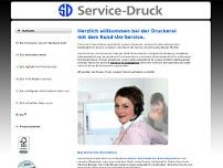 Service-Druck Kleinherne GmbH &Co.KG website screenshot