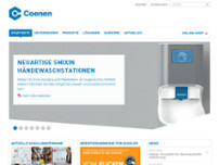 Coenen Neuss GmbH & Co.KG website screenshot
