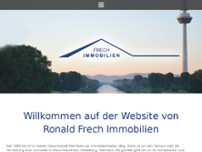 Ronald Frech Immobilien website screenshot