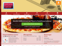 Pizzeria Lorenzo website screenshot