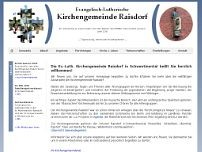 Kirchenbüro website screenshot