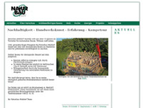 Naturbau Meldorf GmbH website screenshot