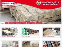 hagebaucentrum Wolfenbüttel website screenshot