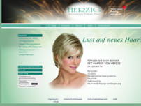 Herzig GmbH Haarwaren-Produktion website screenshot