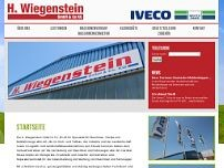 Wiegenstein H. GmbH & Co. KG website screenshot