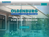 Oldenburg website screenshot
