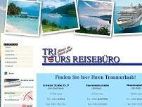 Tri-Tours Reisebüro GmbH & Co. KG website screenshot
