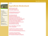 Jugendheim Heckenbach website screenshot