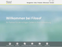 Filosof Software GmbH website screenshot