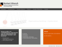 Norbert Wiersch website screenshot
