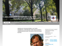 HNO Thomas König website screenshot