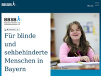 Blinden- u. Sehbehinderten Bund e.V. website screenshot