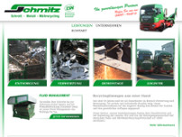 Schmitz GmbH + Co. KG Schrott Metall Müllerrecycling website screenshot