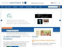 silver.solutions gmbh website screenshot