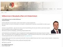 Gemeinde Neustadt am Main website screenshot