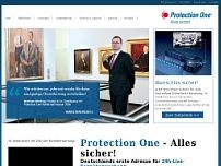 Protection One GmbH website screenshot