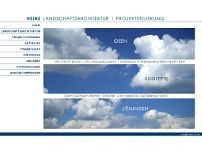 HEINE Landschaftsarchitektur Dipl.-Ing. Marina Heine website screenshot