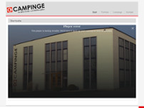 Campinge Gebr. GmbH & Co. KG website screenshot