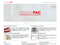 Phacotec Produkt-Service GmbH website screenshot