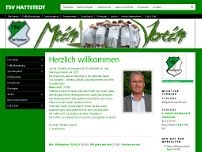 TSV Hattstedt website screenshot