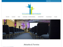 Ev. Freikirche-Ecclesia website screenshot