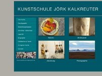 Kunstschule Jörk Kalkreuter website screenshot