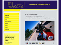 Pierre Schleußner website screenshot