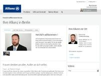 Allianzvertretung Wetzel u. Kröter website screenshot