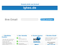 Bürgermeister website screenshot