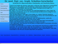 Sigrid Anneliese Schultes-Gerschwiler website screenshot